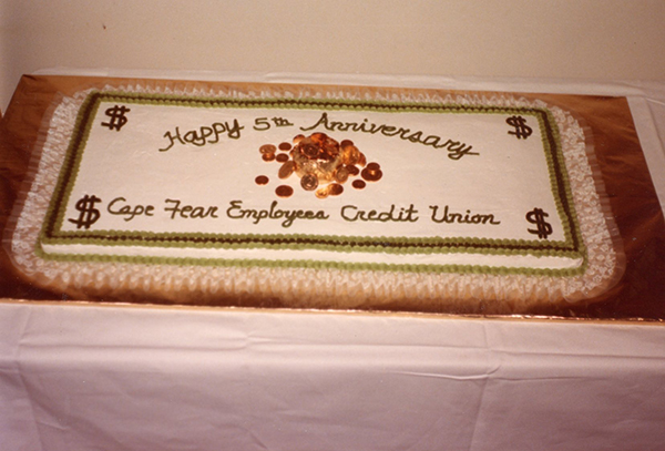 Cape Fear celebrated its 5th anniversary with a cake.