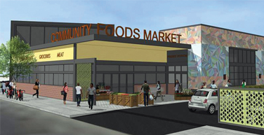 proposed community food market