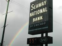 Sign from Seaway National Bank of Chicago