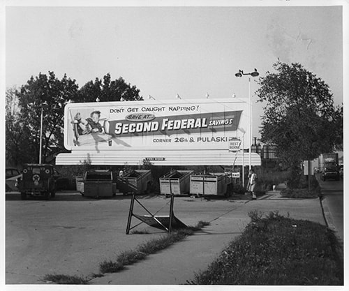 Old Second Federal billboard advertisement